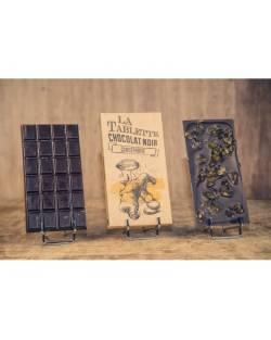 TABLETTE CHOCOLAT NOIR & GINGEMBRE 100G Accueil
