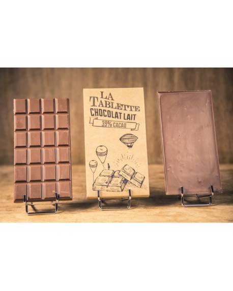 TABLETTE CHOCOLAT AU LAIT 100G Accueil