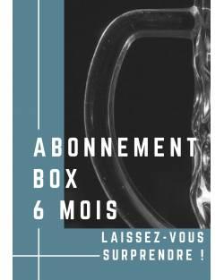 ABONNEMENT BOX 6 MOIS Abonnement