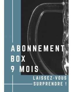 ABONNEMENT BOX 9 MOIS