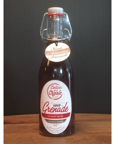 SIROP DE GRENADE - 25 CL Autres boissons