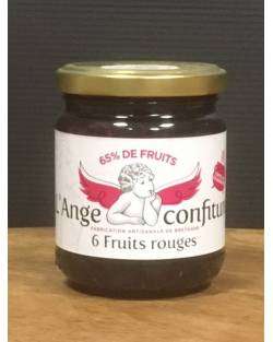 CONFITURE SIX FRUITS ROUGES - 250G Epicerie sucrée