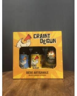 COFFRET DECOUVERTE CRAINT DEGUN Brasserie Les Deux Font la Bière Brasserie Les Deux Font la Bière