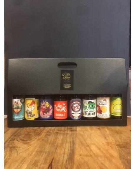 COFFRET CADEAU 8 BIERES ARTISANALES DE PROVENCE Coffret cadeau