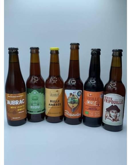 COFFRET DECOUVERTE 6 AMBREES ARTISANALES Coffrets découvertes