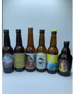 COFFRET DECOUVERTE 6 BLONDES ARTISANALES