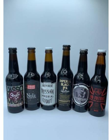 COFFRET 6 bières Impérial stout Coffrets découvertes