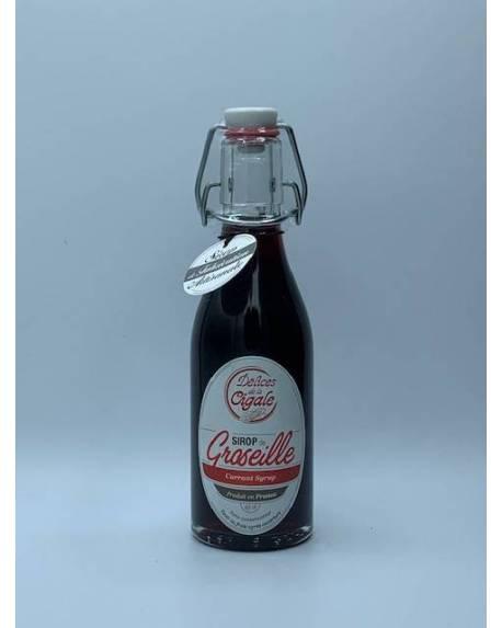 SIROP DE GROSEILLE - 25 CL Autres boissons
