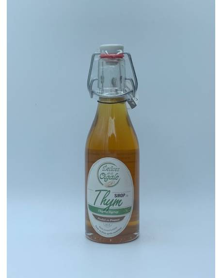 SIROP DE THYM - 25 CL Autres boissons