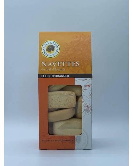 NAVETTES DU VAL D'EYGUES FLEUR D'ORANGER Epicerie sucrée Biscuiterie de Provence