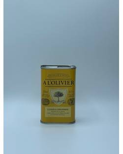 HUILE D'OLIVE INFUSEE CITRON GINGEMBRE 250ML