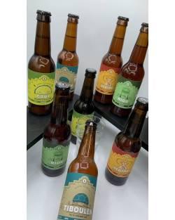 COFFRET BRASSERIE ZOUMAI 10 bières + 1 verre Coffrets découvertes