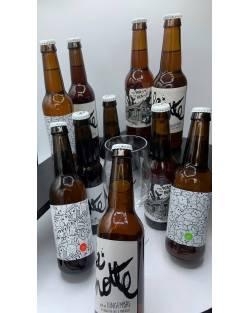 COFFRET BRASSERIE LA MINOTTE 10 bières + 1 verre Coffrets découvertes