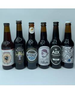COFFRET DECOUVERTE 6 BRUNES ARTISANALES Coffrets découvertes