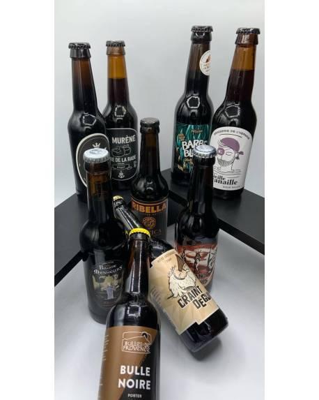 COFFRET DECOUVERTE 12 BRUNES ARTISANALES Coffrets découvertes